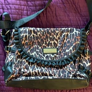Betsey Johnson crossbody bag animal print